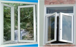 cửa sổ 2 cánh cửa nhựa lõi thép có những loại nào
